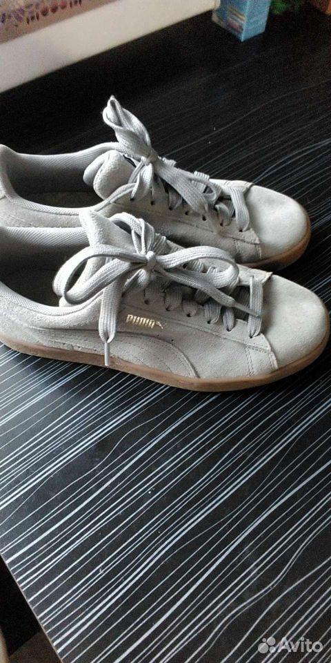 Кроссовки Puma,р.37-38, оригинал,кожа  89272872007 купить 2