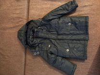 Куртка-пальто демисезон б/у размер 110