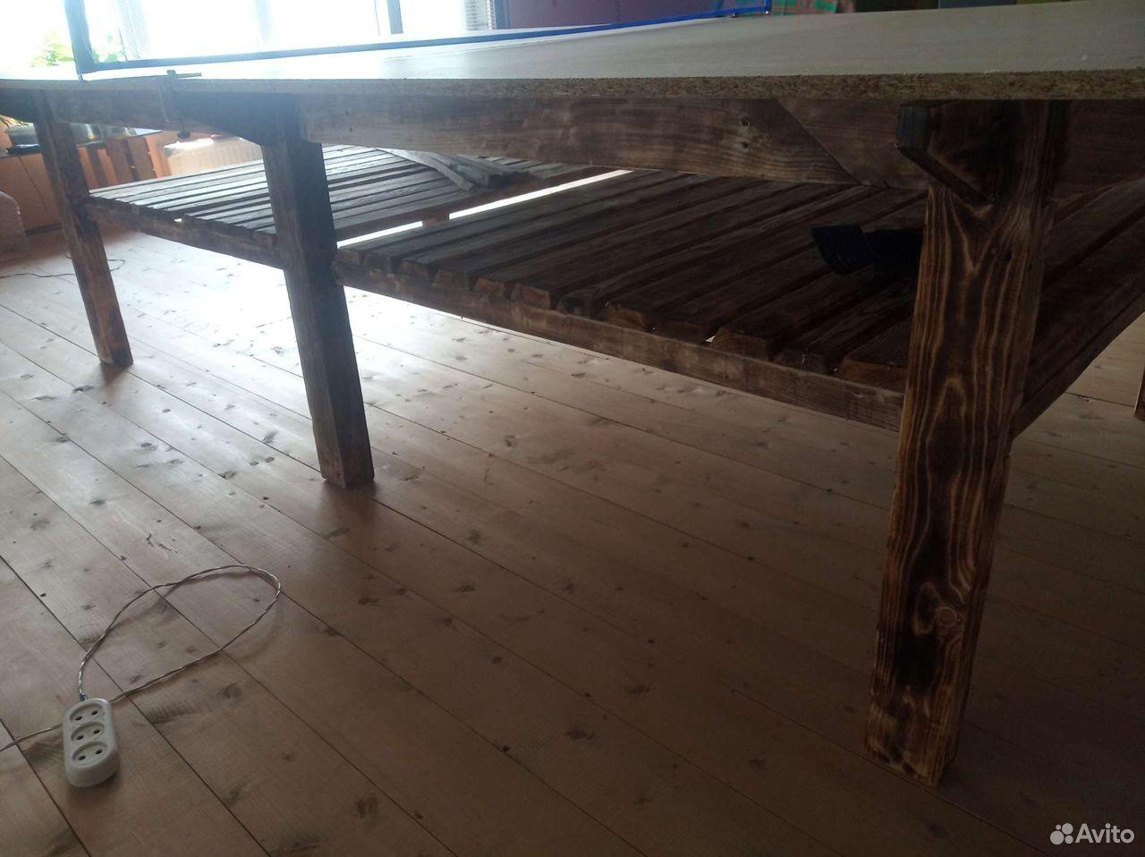 Теннисный стол из массива дерева  89289277679 купить 3