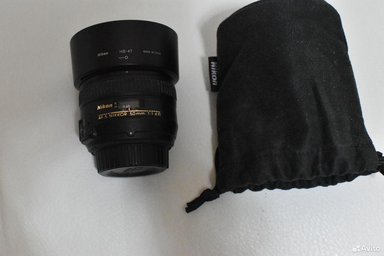 Nikon 50mm f/1.4G AF-S Nikkor Nikon 50mm f/1.4G AF  89997809207 купить 1