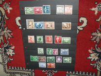 Рейх. 25 чистых марок в отличном состоянии