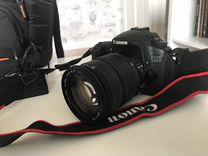 Canon 60D+объективы+сумка