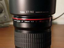 Canon 135 фикс f2