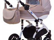 Коляска Adamex Lara 2 в 1 + стульчик для кормления — Товары для детей и игрушки в Геленджике