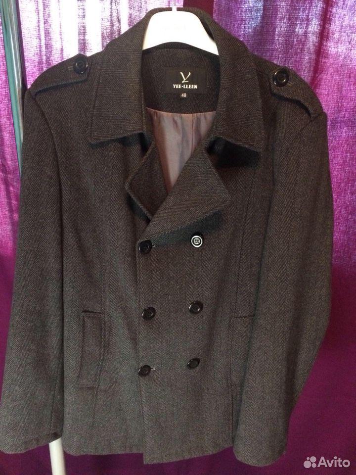 Пальто мужское  89002020556 купить 1