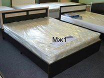 Кровать с матрасом новая. Доставка