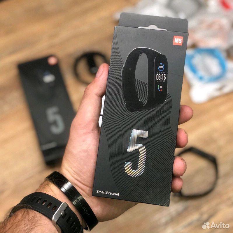 Фитнес браслет Xiaomi Mi Band 5 + Гарантия  89836272554 купить 1