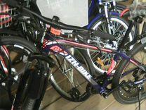 Алюминиевый велосипед новый на 27- х колесах