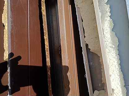 Дверь входная Б/У или с выставки — Ремонт и строительство в Москве