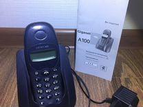 Телефон беспроводной радио Siemens Gigaset A100